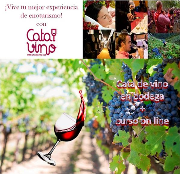 Cata de Vino en Bodegas Cruz Conde para 2