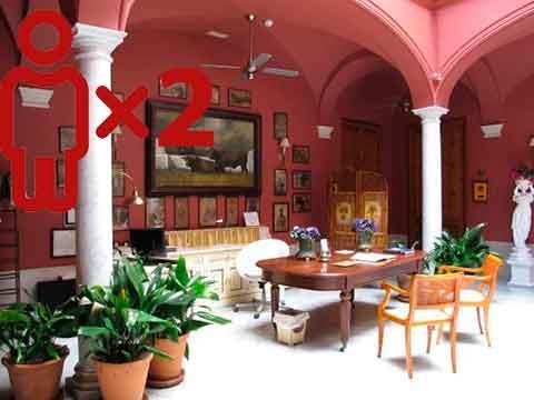 Entre viñedos - Casa Palacio Conde de la Corte para 2