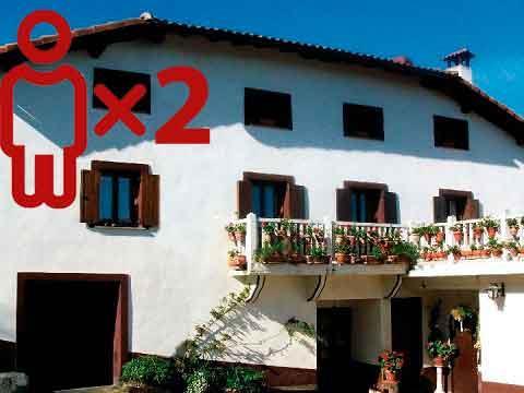 Entre viñedos - Casa rural Arriola Txiki para 2