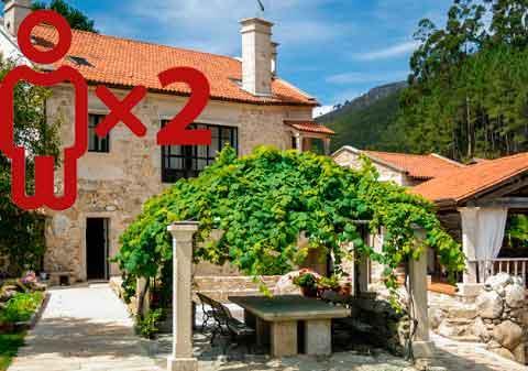 Entre viñedos - Hotel Rural Entre Os Ríos para 2