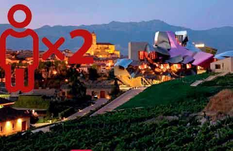 Entre viñedos - Hotel Villa Elciego para 2