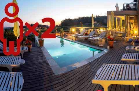 Entre viñedos - Quinta de San Amaro Hotel y Restaurante para 2