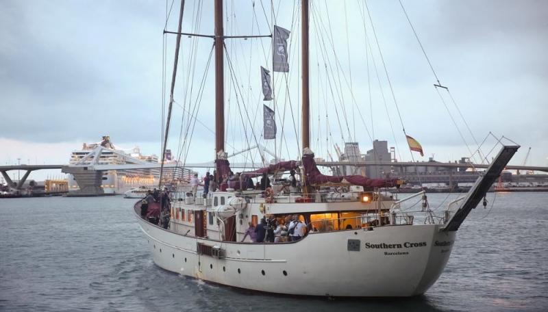 Navegando desde Barcelona hasta Bodegas Alta Alella