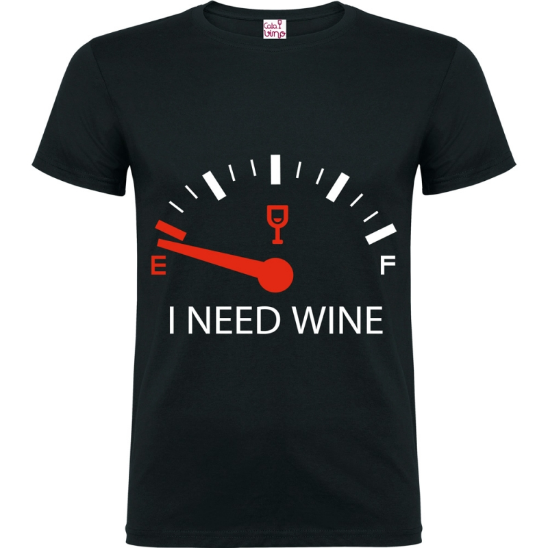 Camiseta - I NEED WINE