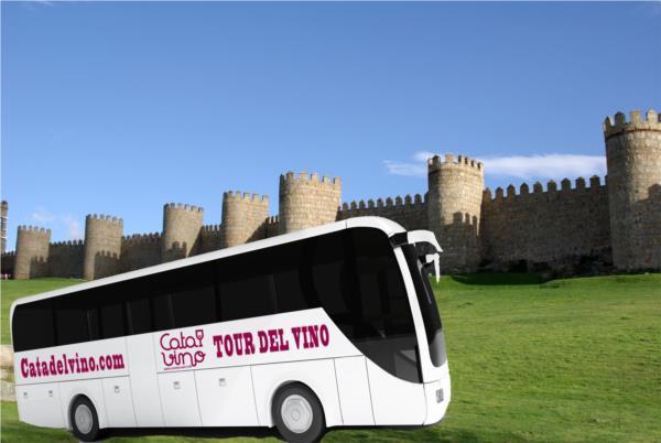 Tour del vino por Ávila, y bodegas de Rueda.