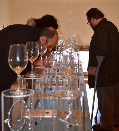 Visitas Vip, degustación, aperitivo sala de aromas SILVANO GARCIA