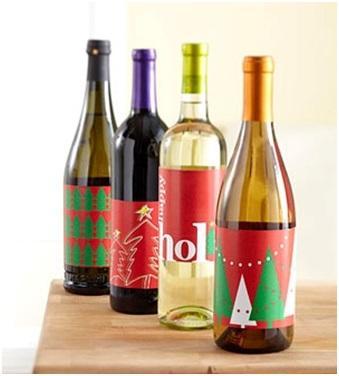 Sugerencias para obsequiar un vino en Navidad.
