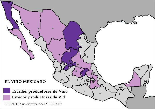 Conozcamos un poco de la Vitivinicultura de México.