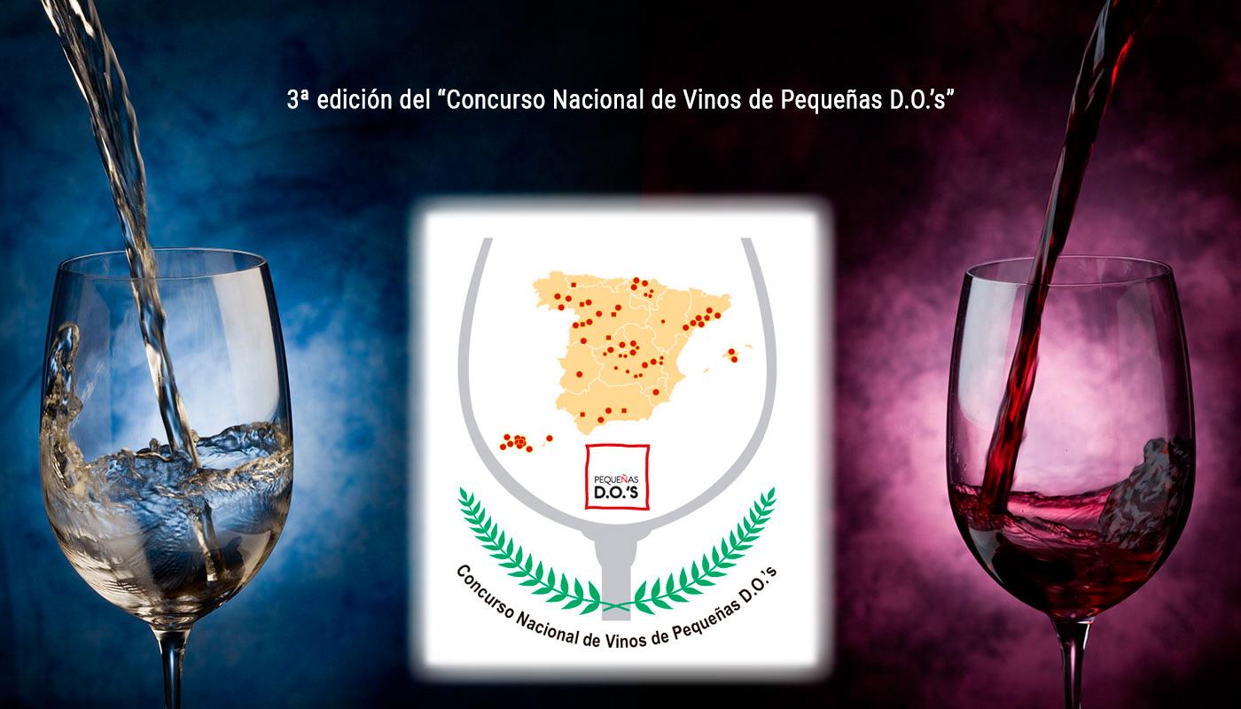 """El 14 de junio de 2019, se celebrará la 3ª edición del """"Concurso Nacional de Vinos de Pequeñas D.O.`s"""""""