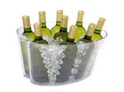 ¿Cuál es la mejor manera de mantener la temperatura de servicio del vino?