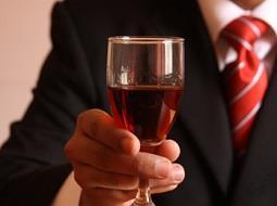 El vino y las relaciones empresariales.