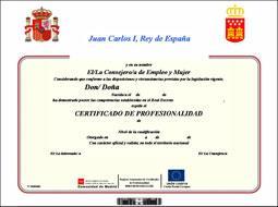 ¿Cuáles son las Escuelas españolas que pueden expedir la certificación profesional de sumiller?