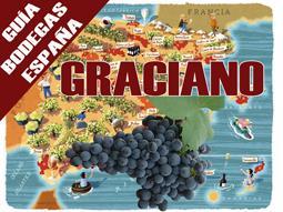 Guía de Bodegas productoras de vinos graciano en España.