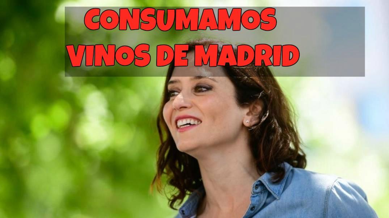 """Isabel Díaz Ayuso: """"¿Ribera o Rioja? ¡También hay que pedir Vinos de Madrid! ¿Por qué no?"""""""