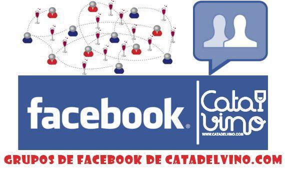 Los grupos de Facebook de Catadelvino.com