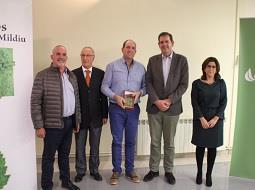 Reconocimiento al buen hacer de los viticultores en los Premios Mildiu 2017.