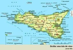 Sicilia: una isla de vino.