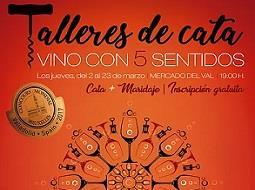 Última cata Vino con 5 sentidos en Valladolid previo al Concurso de Bruselas.